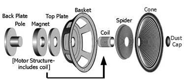 speaker repair site audio repair nevisonics rh woofer com Car Speaker Diagram How Do Speakers Work Diagram